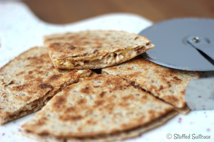 yummy chicken quesadilla