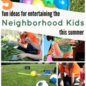 5 fun ideas for entertaining the neighborhood kids this summer StuffedSuitcase.com