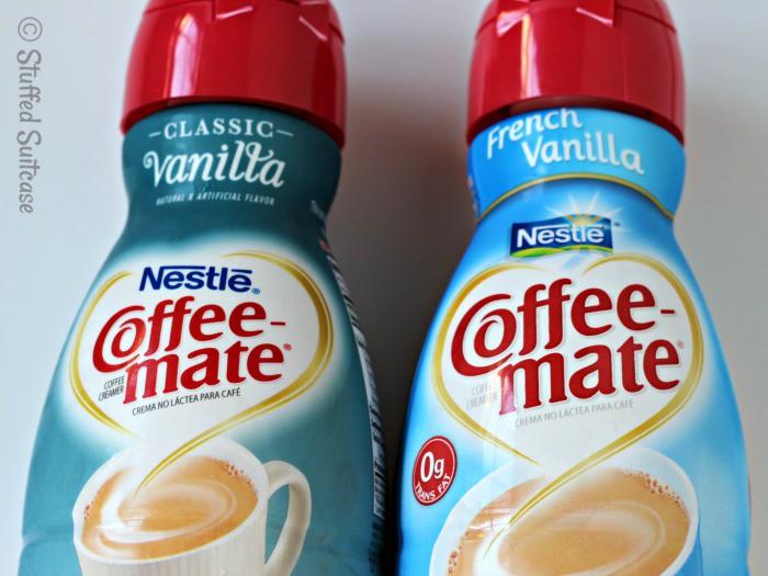 Coffee-mate Classic Vanilla and French Vanilla Coffee Creamers