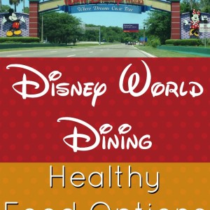 Healthy Food Options for Disney World Dining