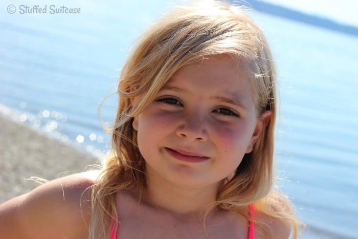 Child Portrait at the Beach