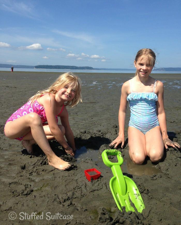 Fun in the Sand (Sunuva Moroccan Tiles Dress and Starburst Swimsuit)