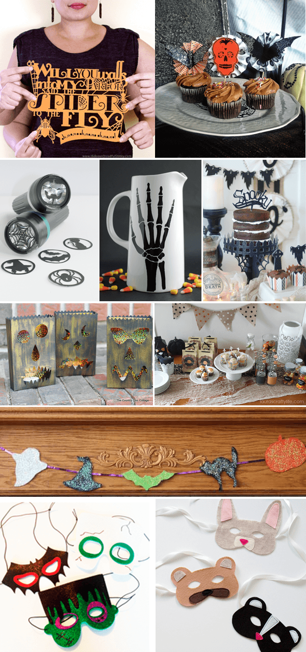 Cricut Design Star Team 11 - Sept Halloween Projects