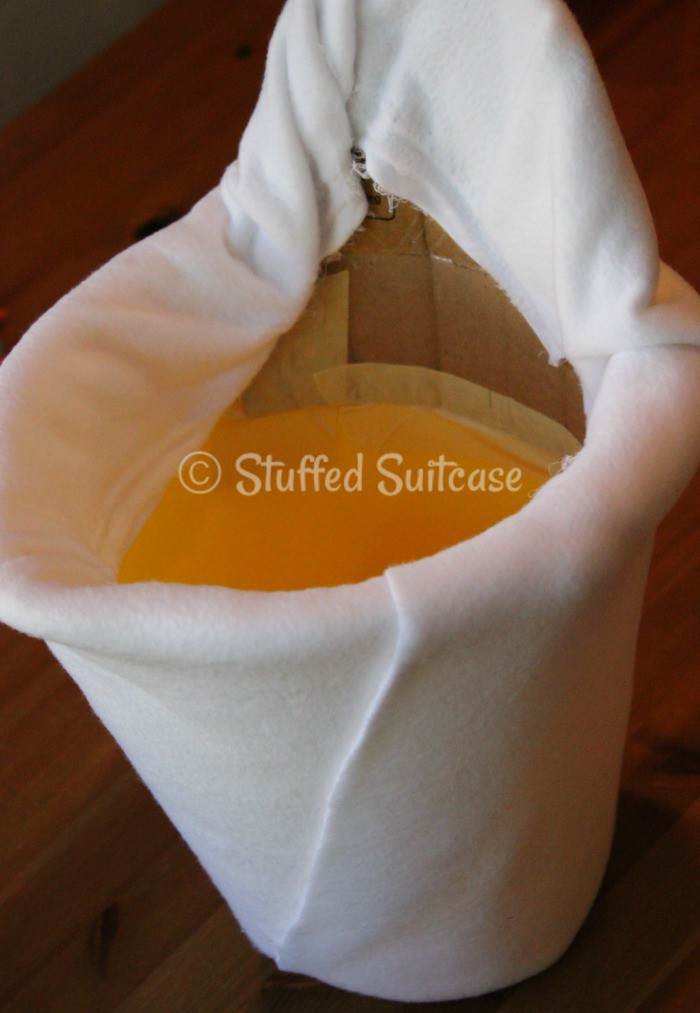 wrapped in fleece olaf bucket