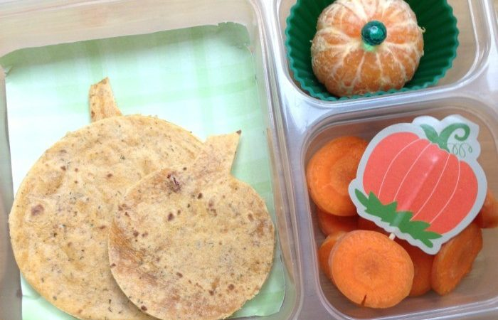 Halloween Food Ideas for Kids' School Lunch