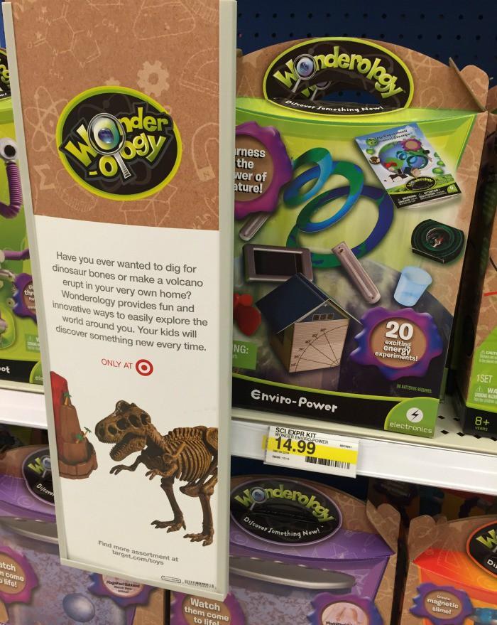Wonderology Science Kits at Target