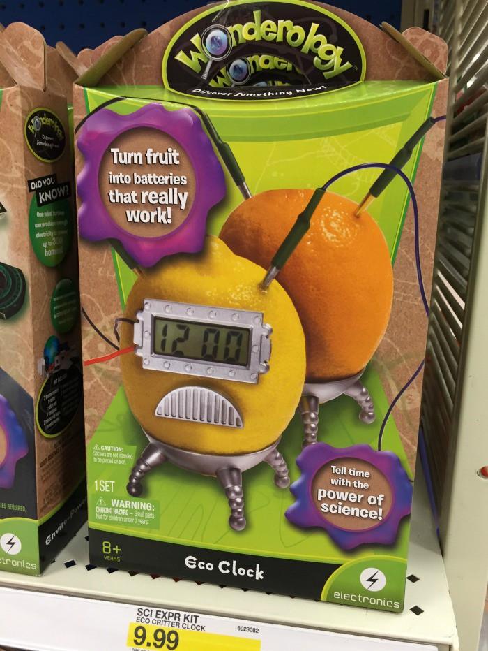 Wonderology Eco Clock at Target