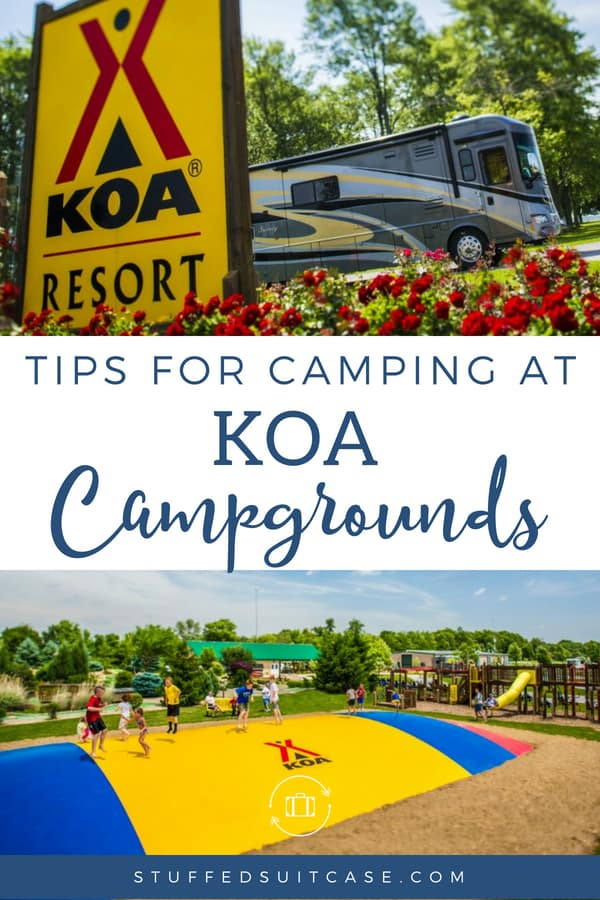 koa campgrounds camping tips