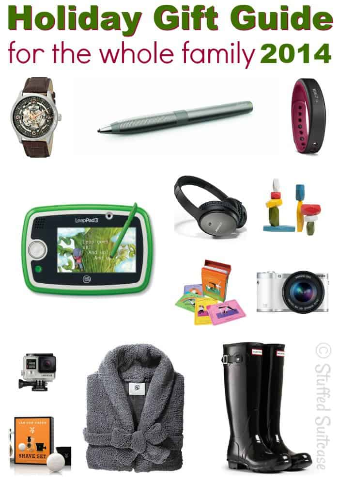 Gift Guide for the Whole Family: Holiday Shopping Ideas