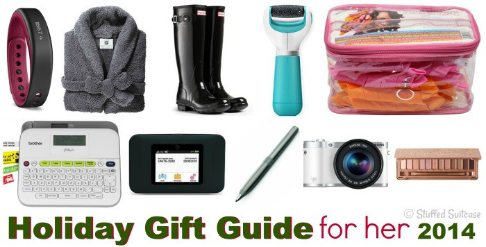 A collection of gift ideas for women this holiday / Christmas season!
