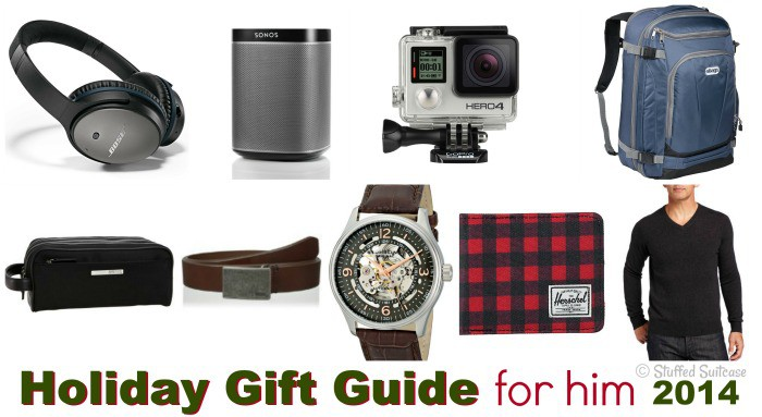 Looking for some great gift ideas for the man or men in your life? Here are some ideas that are sure to be hits this holiday season! Christmas gift ideas for him.