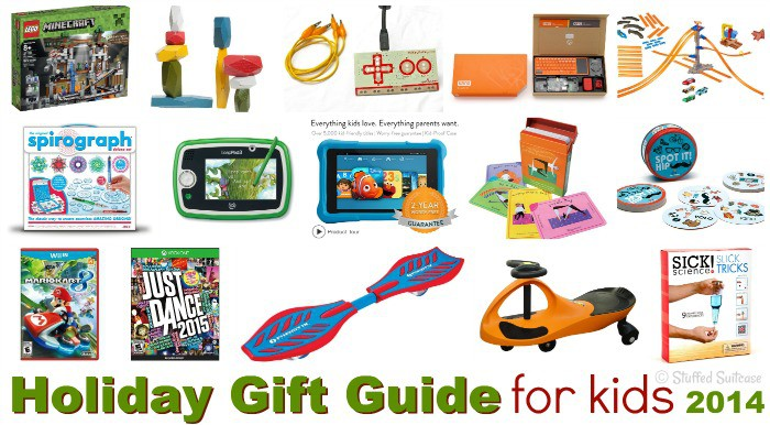 Fun gift ideas for giving your kids this holiday season. Check your off your Christmas list with some of these toys for boys and girls!