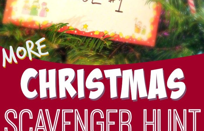 Scavenger hunt gift ideas christmas