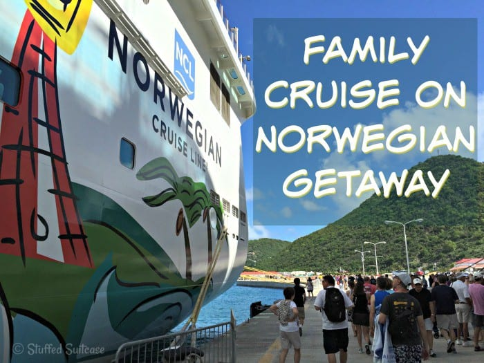 Photos from our time aboard the Norwegian Getaway for our family Caribbean cruise