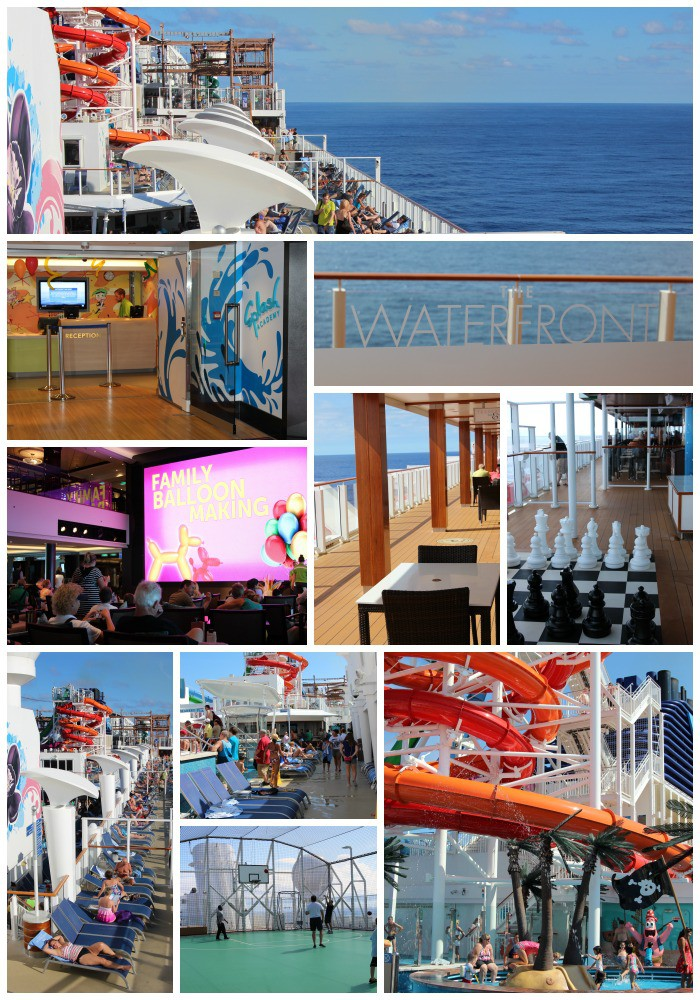 A look around the Norwegian Getaway
