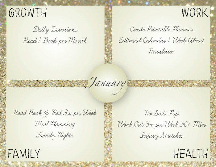 use these monthly goal setting free printables to help you stay on track with your new