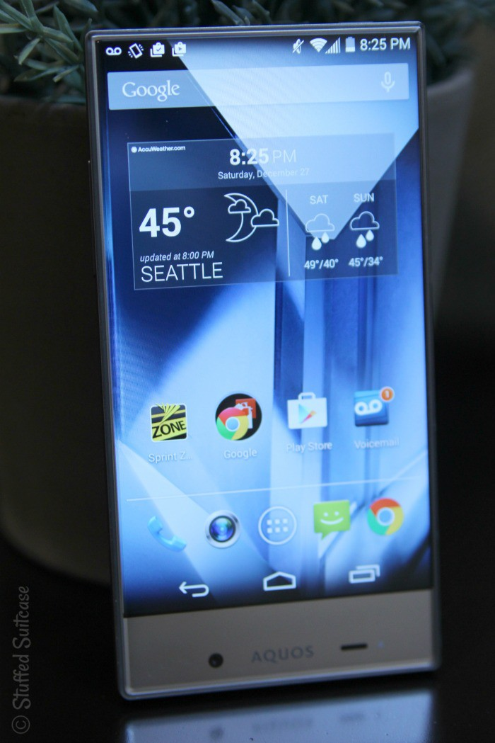 A Look at the Features of the Sharp Aquos Crystal Phone from Sprint