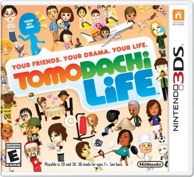 Tomodachi Life Game Cover