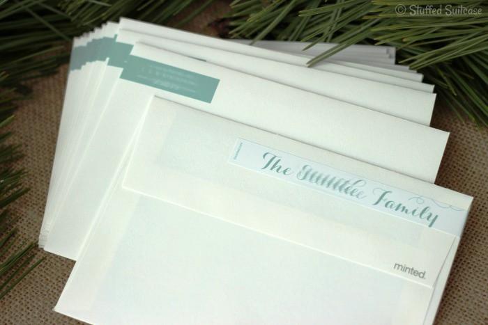 Return Address Label Wraps
