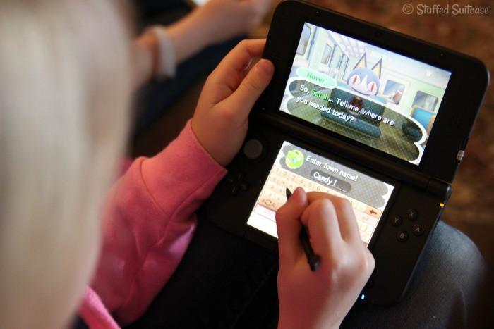 Animal Crossing: New Leaf game Nintendo 3DS XL