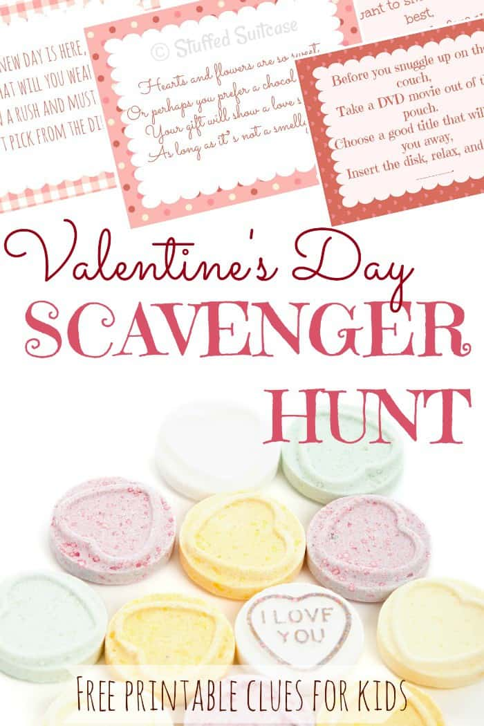valentines scavenger hunt for kids & fun gift ideas, Ideas