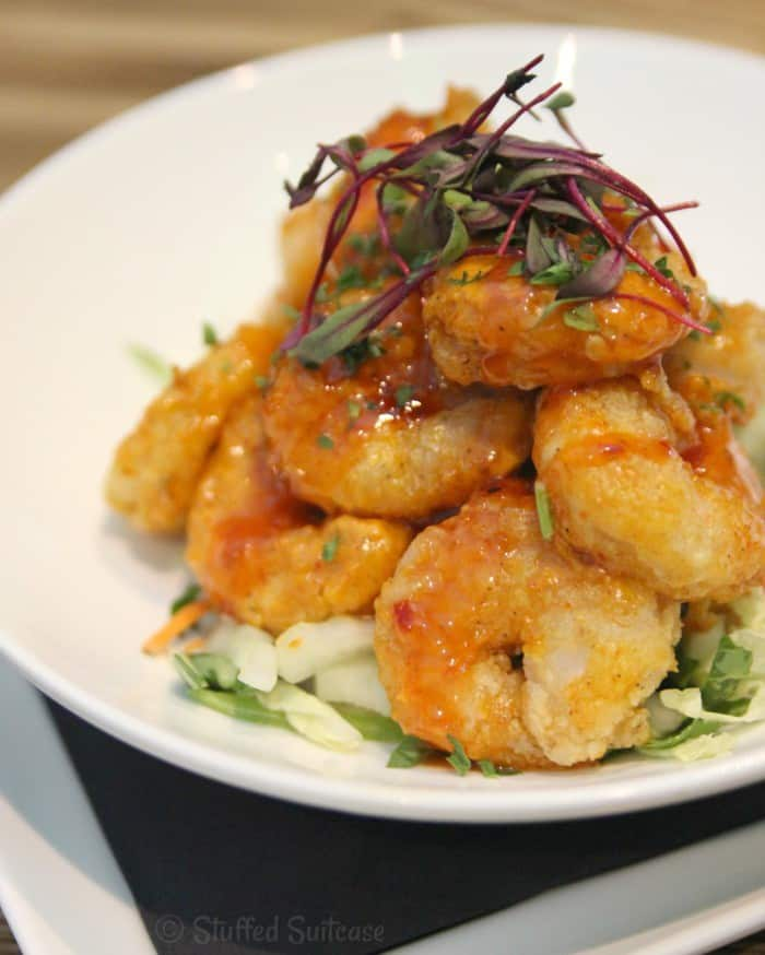 Amazing Appetizer! Spicy Togarashi Shrimp