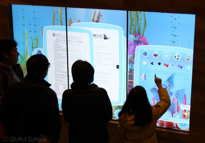 Interactive Jumbo Touchscreen at Cowfish @UniveralORL #UniversalCityWalk