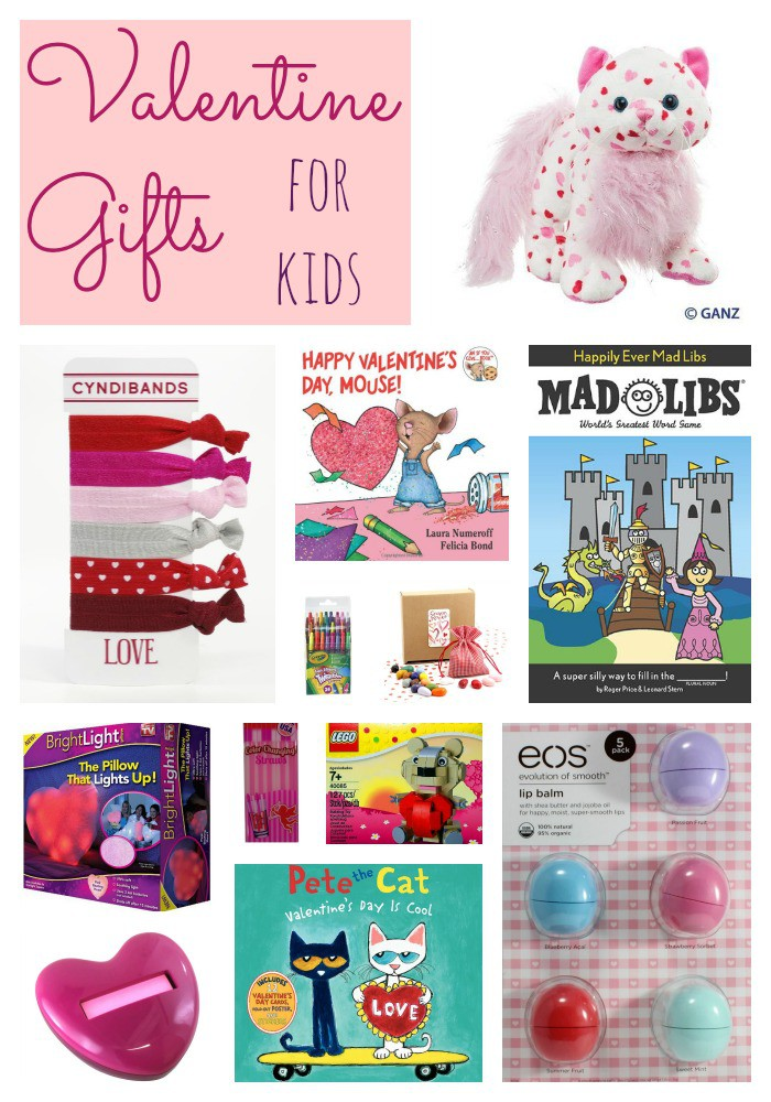 Want to get a sweet gift for your kids for Valentine's Day? Here are some fun Valentine gift ideas for kids.