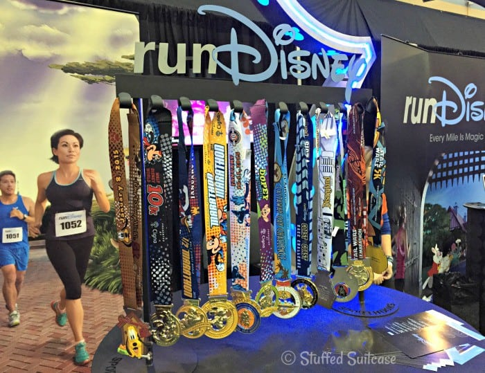 Walt Disney World runDisney race medals StuffedSuitcase.com