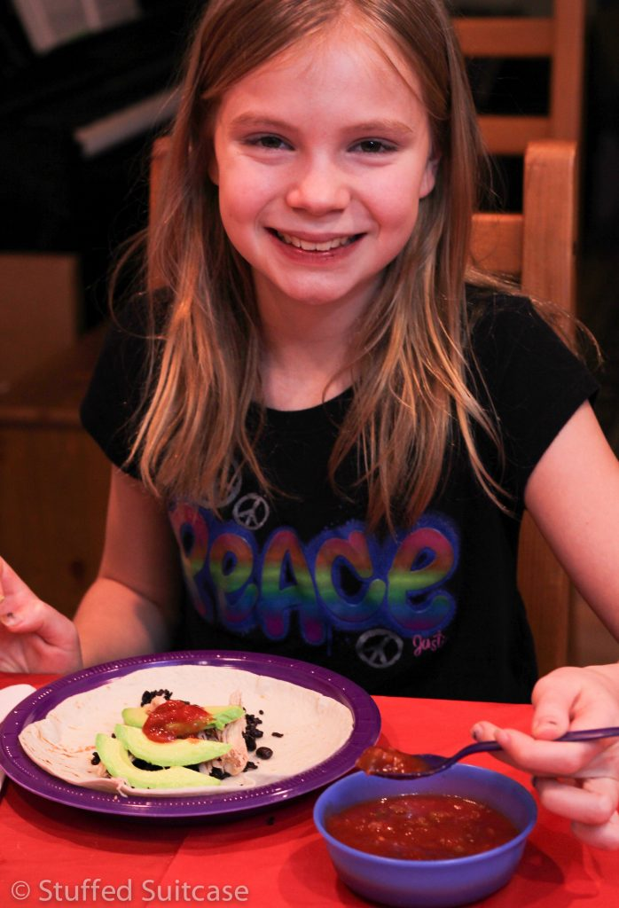 Our family loved our Big Hero 6 Movie Dinner Meal!