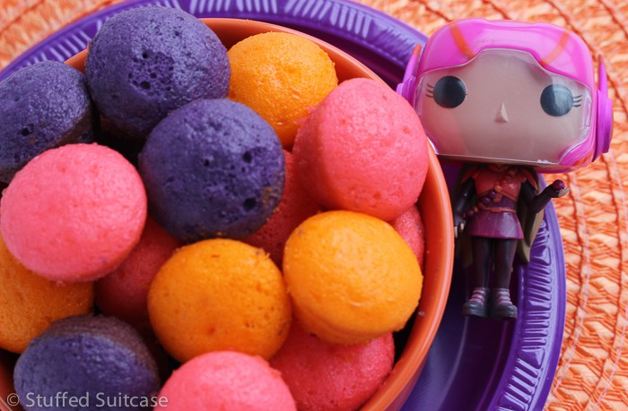Make these Honey Lemon Molecules as a perfect dessert for your Big Hero 6 Movie Night!