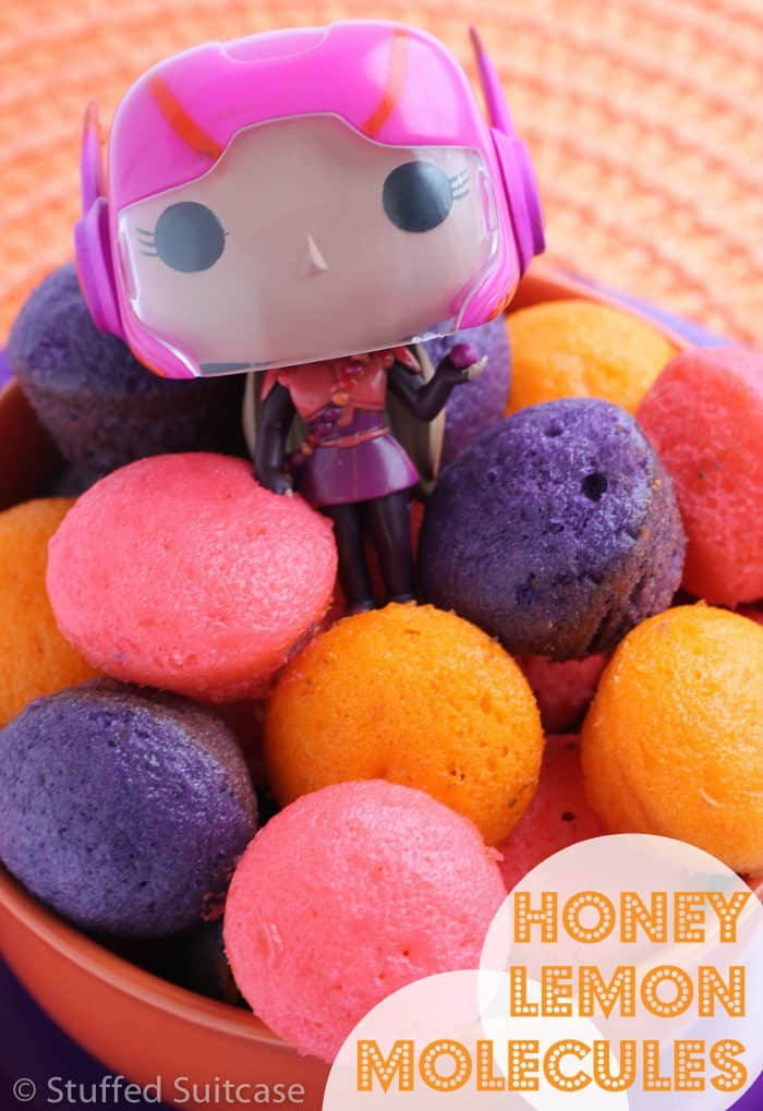Honey Lemon Molecules - Dessert Recipe for Big Hero 6 Movie Night