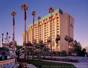 Hotels by Disneyland: The Paradise Pier Disneyland Resort Hotel with on-site benefits and great park views.