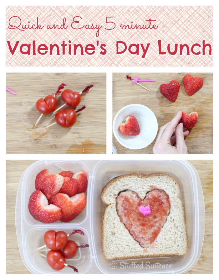 Quick And Easy Valentine S Day School Lunch Ideas