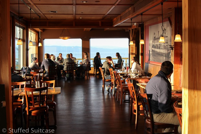 Riverfront Dining At Baked Alaska In Astoria Oregon