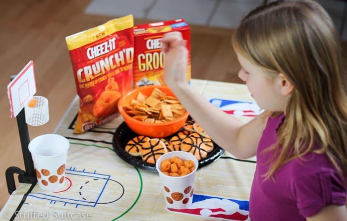 DIY Tabletop Basketball Game Fun Party Ideas
