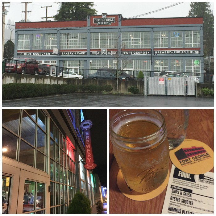 Fort George Brewery and Public House in Astoria