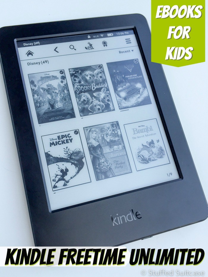Access to hundreds of chapter reading ebooks with FreeTime Unlimited from Amazon