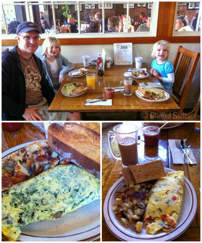 Ask the locals - they can help you find gems like the Omelette Express