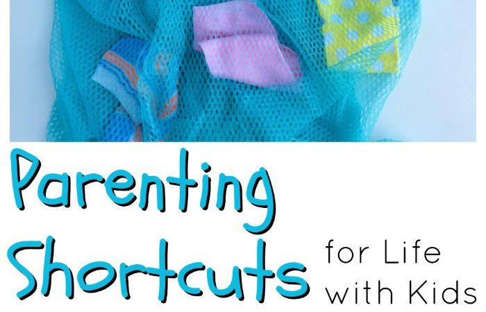 Some great parenting shortcuts for helping make life with kids a little bit easier and run a little bit smoother!