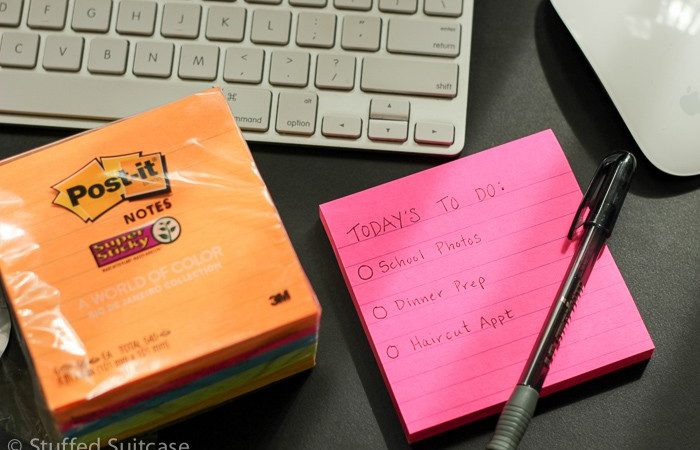 Adding Color to Your To Do Lists with New Post-it® Notes
