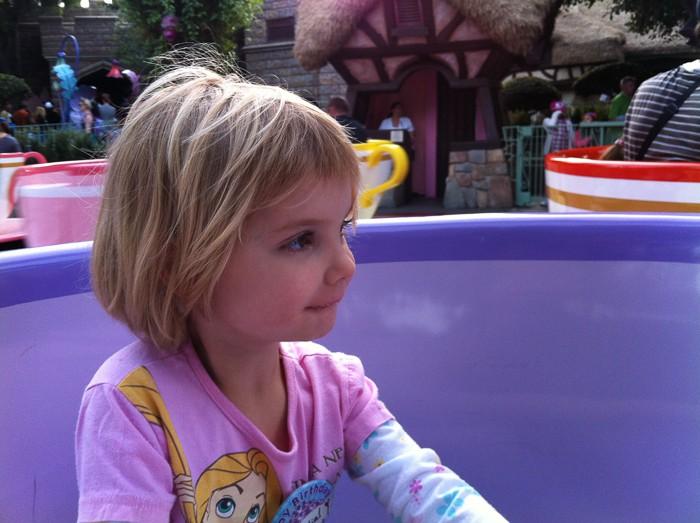 Disneyland Mad Tea Party teacup fun!