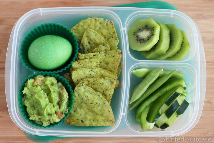 Have fun celebrating St Patrick's Day with these green food items perfect for packing in school lunches or for work