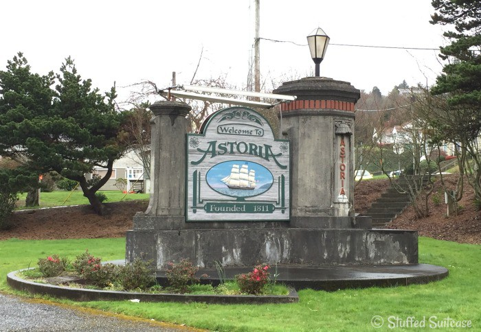 Welcome to Astoria, Oregon