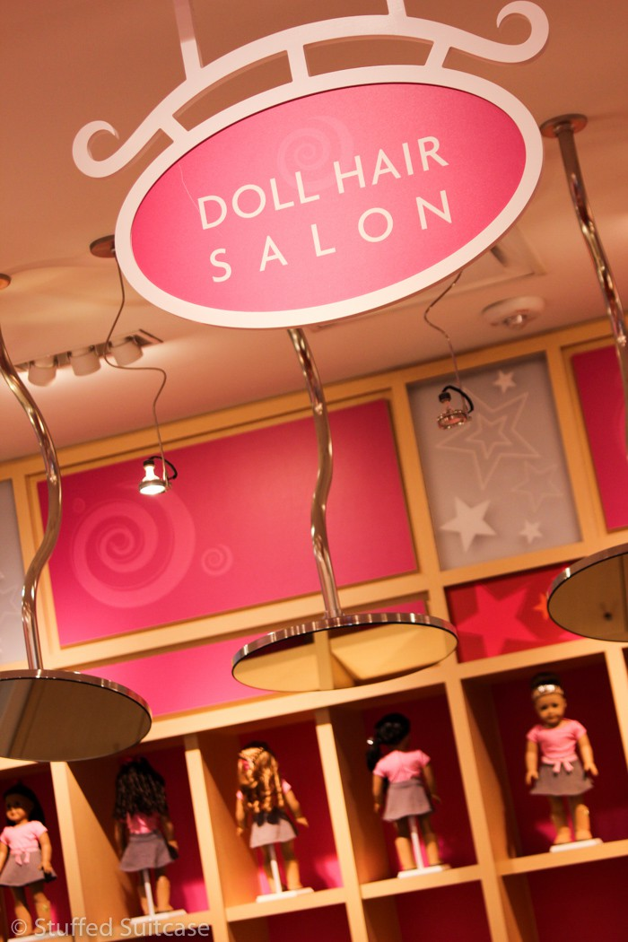 American Girl Doll Hair Salon in Seattle