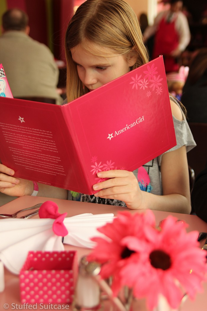 Dining at the American Girl Bistro Seattle