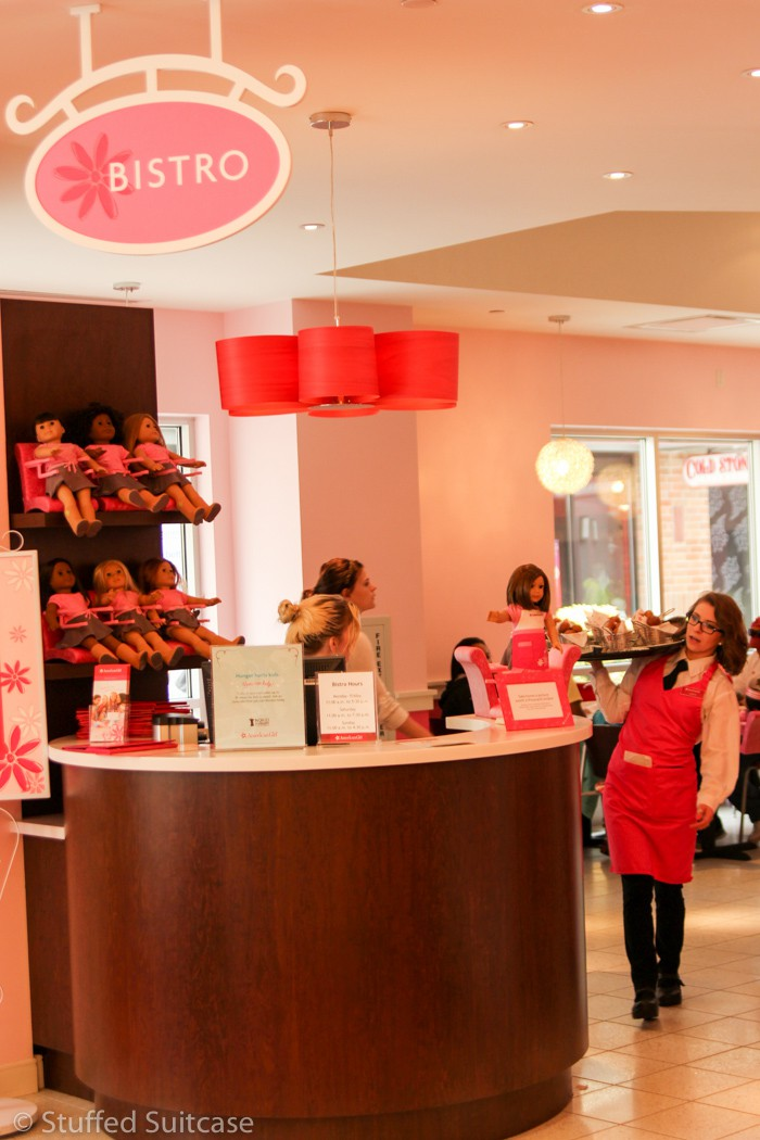 American Girl Bistro at Seattle store