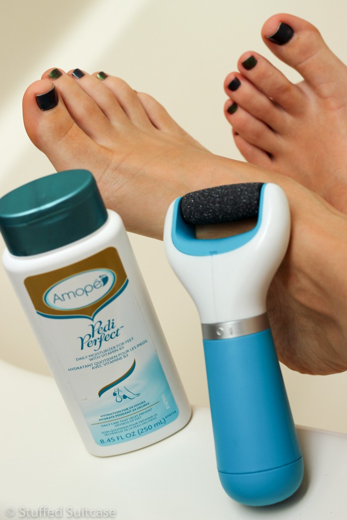 Pamper your feet and get ready for sandal weather with Amopé™ products