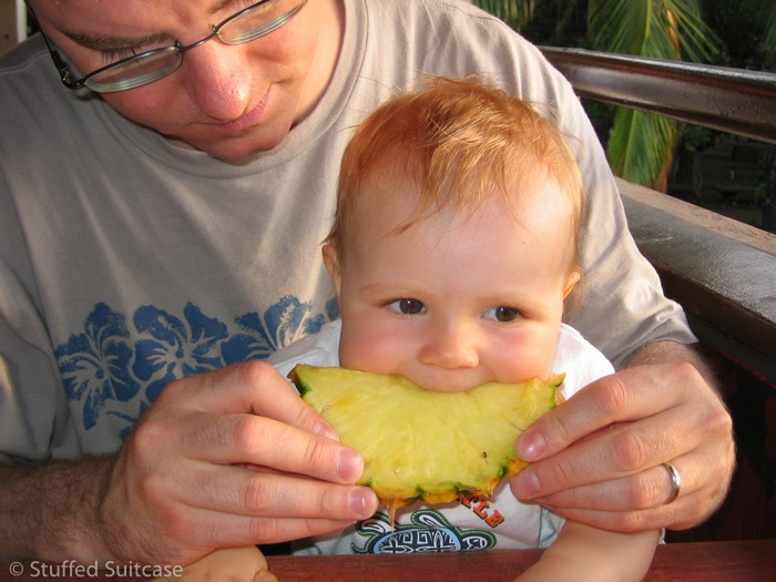 One of my top family vacation travel tips is to keep snack handy and meals planned in advance.