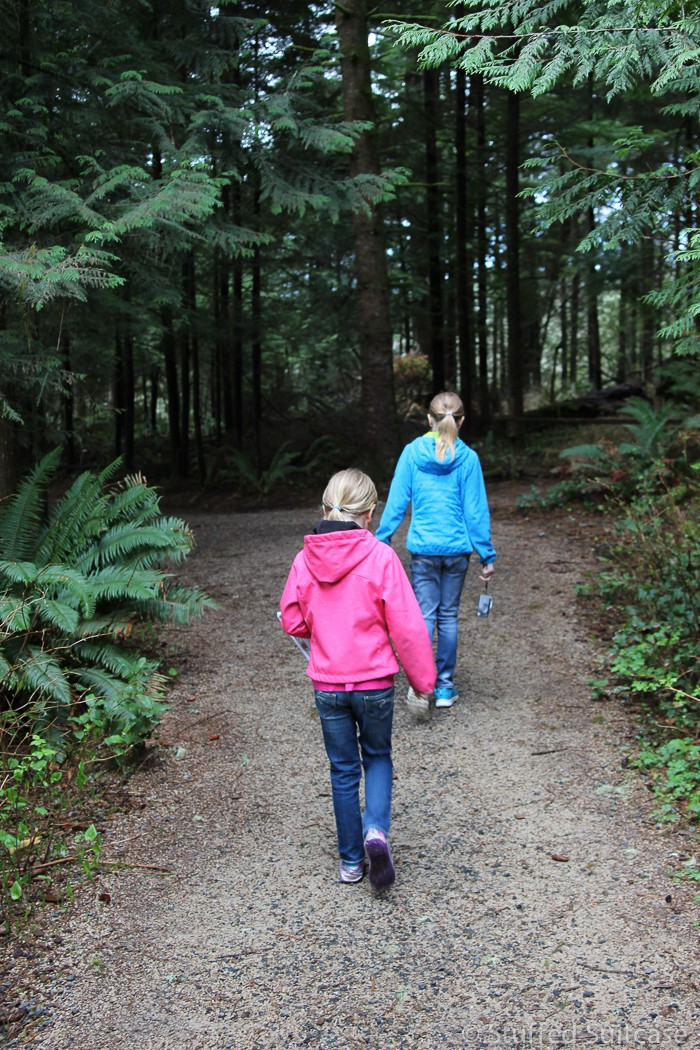 Pacific Northwest trails at their finest at Fort Clatsop National Park